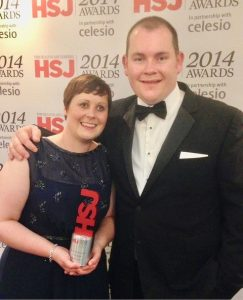 Kate Granger And Chris Pointon HSJ Awards 2